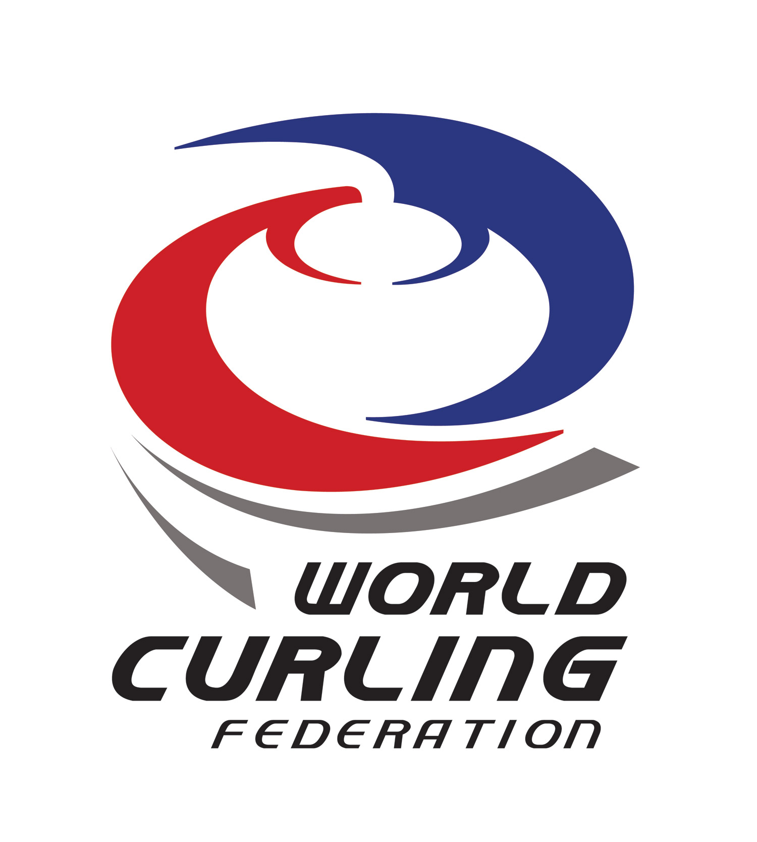 WCF World Curling Federation Logo